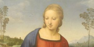 Raphael - Madonna of the Goldfinch - Particular