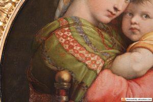 raphael madonna della seggiola scarf shawl