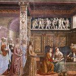 ghirlandaio tornabuoni chapel santa maria novella