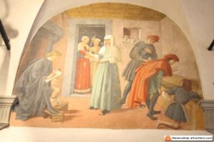ghirlandaio freascoes oratorio di san martino