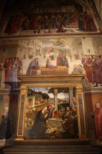 sassettichapel santa trinita altarpiece