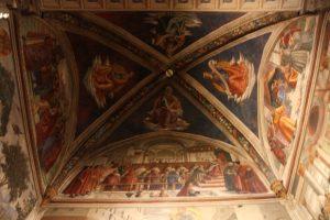 sassetti chapel vault santa trinita