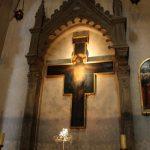 santa trinita painted cross