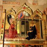 annunciation santa trinita lorenzo monaco