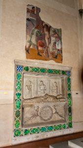 Tomb of Benozzo Federighi - Luca Della Robbia - Santa Trinita