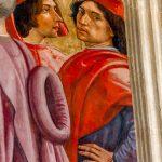 sassetti chapel ghirlandaio self portrait santa trinita