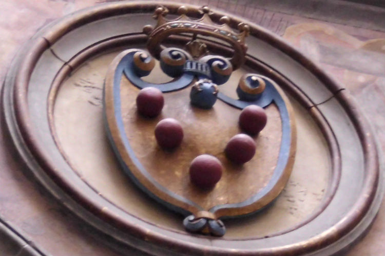 Medici Coat Of Arms A Mystery In Florence Italy Your Contact In