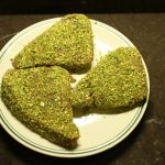 tuna fish with pistachio