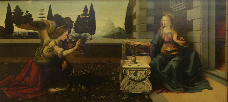 Leonardo da Vinci Annunciation - Your Contact in Florence