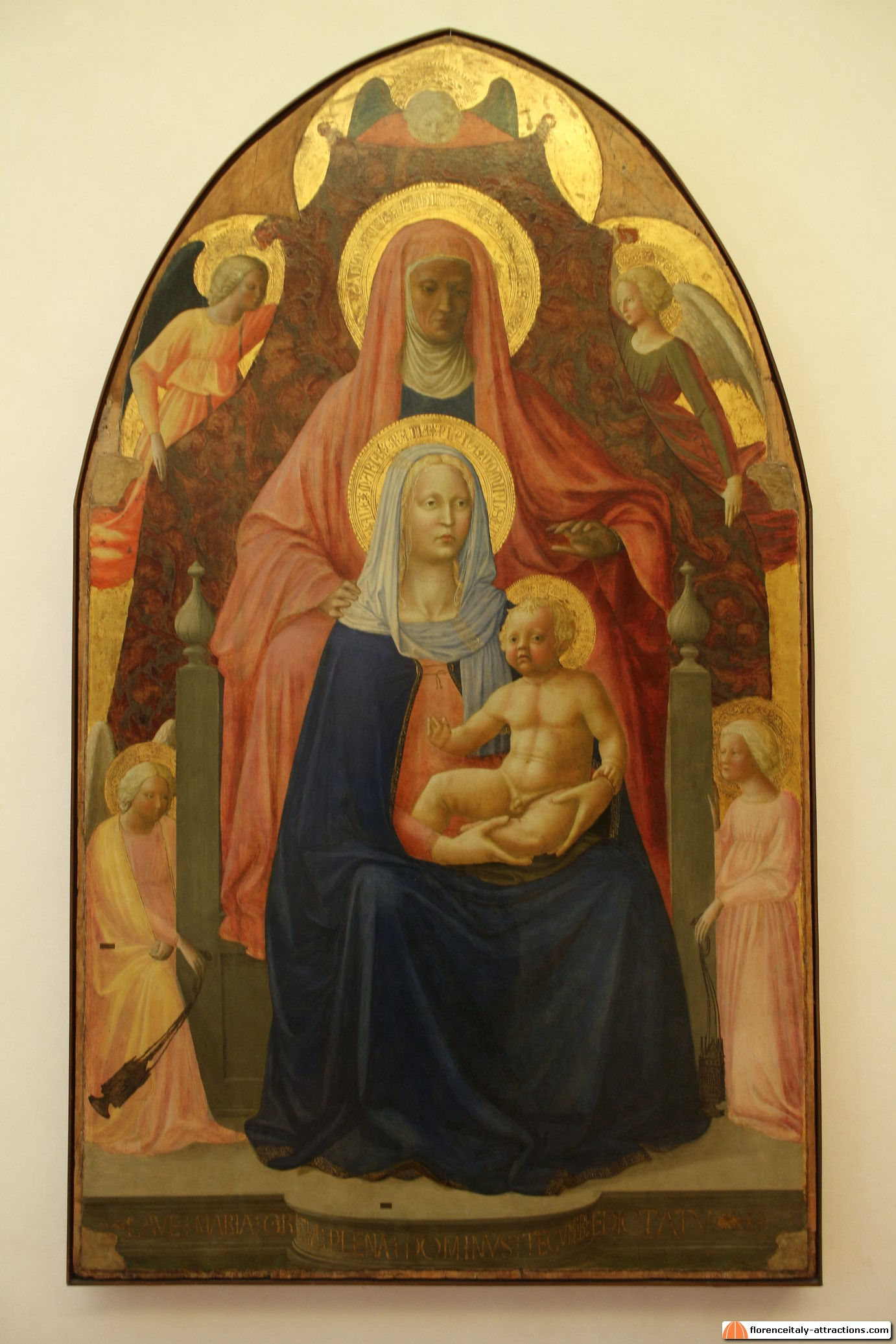 Brief biography and works of masaccio