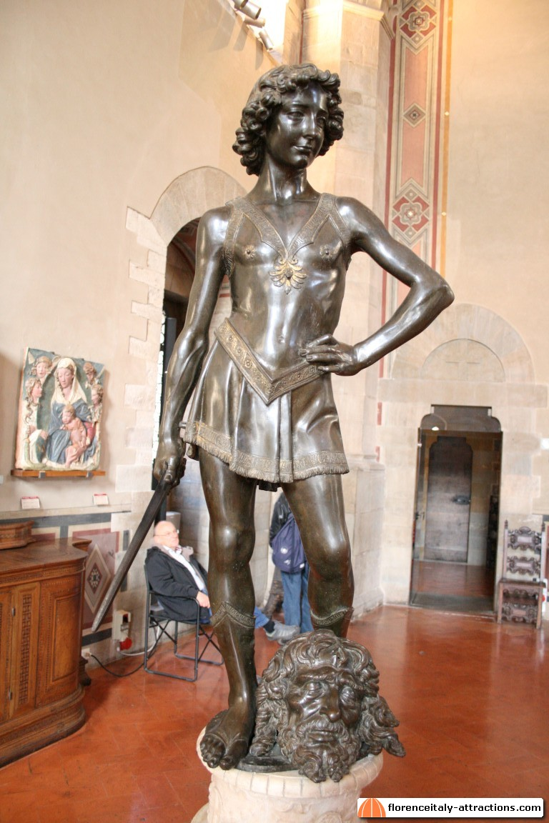 an analysis of the sculptures of david by donatello and andrea del verrocchio One example is the 17th century sculptor bernini whose statue of david  the statue of david by donatello and verrocchio were made using this  scoppio del carro.