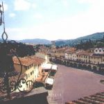The village of Greve in Chianti