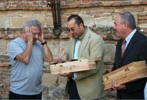 Dustin Hoffman in Montepulciano