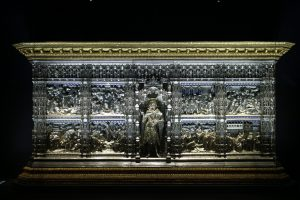 Silver altar of the Baptistery in Florence Duomo museum