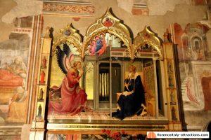Lorenzo Monaco - Annunciation - Basilica di Santa Trinita