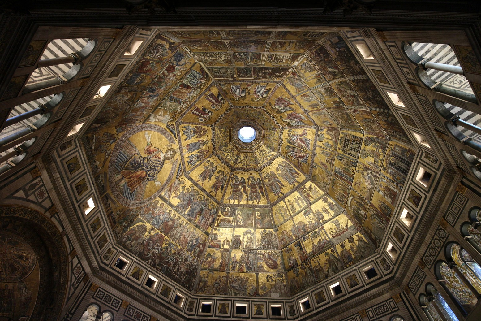 Italian Florence: An Ancient Temple In Florence Italy