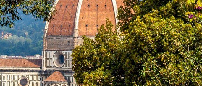 giardino bardini brunelleschi dome