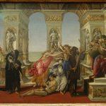 Botticelli Calumny of Apelles
